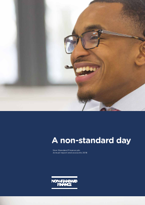 Non-Standard Finance annual report 2016