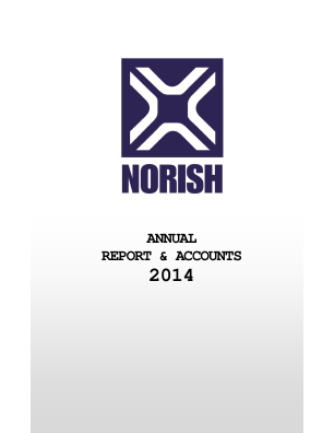Norish annual report 2014