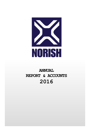 Norish annual report 2016