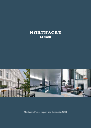 Northacre annual report 2011