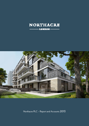 Northacre annual report 2013