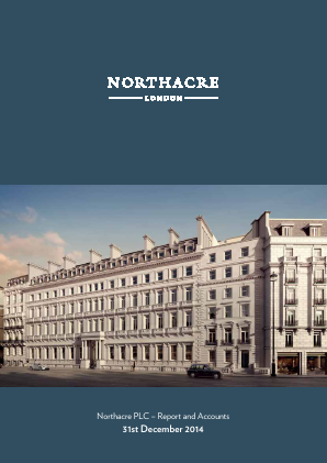 Northacre annual report 2014
