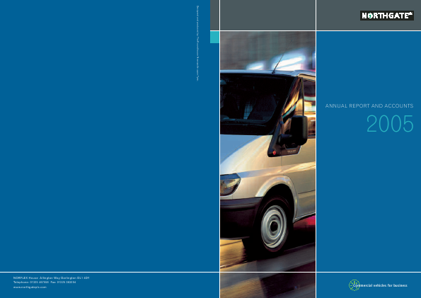 Northgate Plc annual report 2005