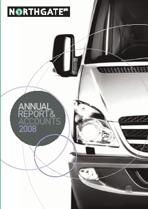 Northgate Plc annual report 2008