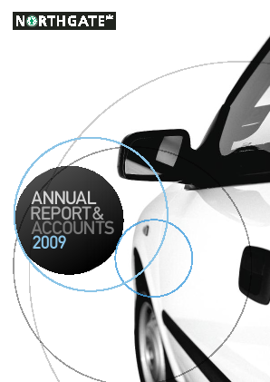 Northgate Plc annual report 2009