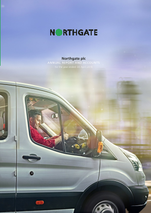 Northgate Plc annual report 2018