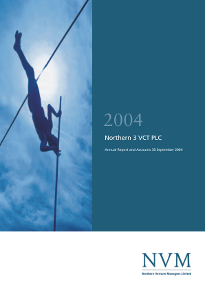 Northern 3 VCT annual report 2004