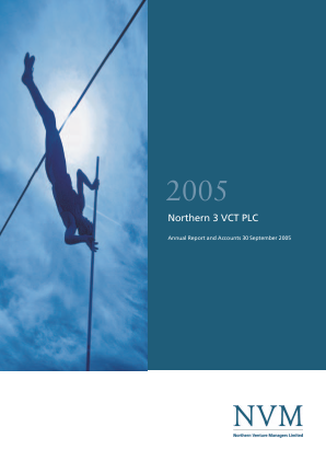 Northern 3 VCT annual report 2005