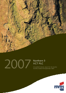 Northern 3 VCT annual report 2007