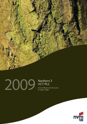 Northern 3 VCT annual report 2009