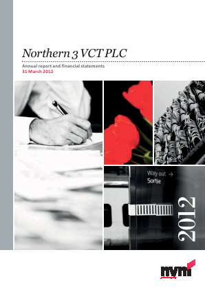 Northern 3 VCT annual report 2012