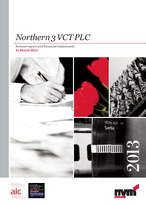 Northern 3 VCT annual report 2013