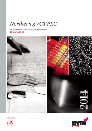Northern 3 VCT annual report 2014