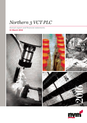 Northern 3 VCT annual report 2016
