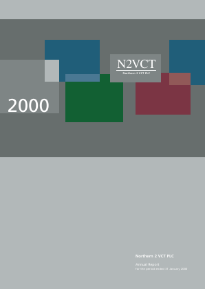Northern 2 VCT annual report 2000