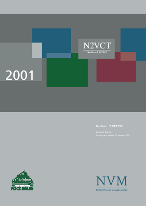 Northern 2 VCT annual report 2001
