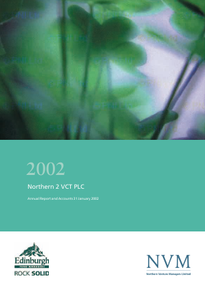 Northern 2 VCT annual report 2002
