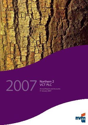 Northern 2 VCT annual report 2007