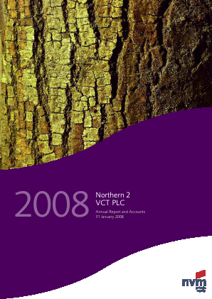Northern 2 VCT annual report 2008