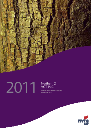 Northern 2 VCT annual report 2011