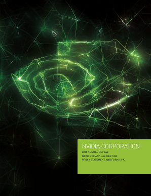 NVIDIA Corporation annual report 2015