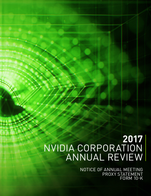 NVIDIA Corporation annual report 2016