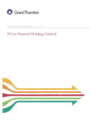 NVest Financial Holdings annual report 2016