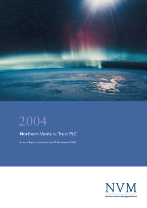 Northern Venture Trust annual report 2004