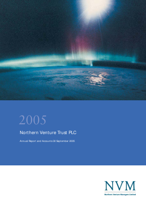 Northern Venture Trust annual report 2005