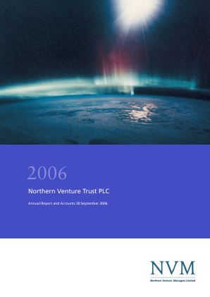 Northern Venture Trust annual report 2006
