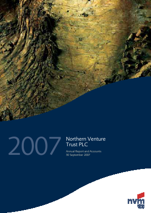Northern Venture Trust annual report 2007