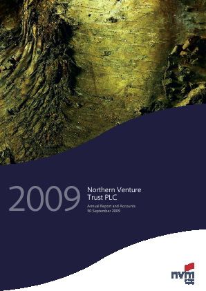 Northern Venture Trust annual report 2009