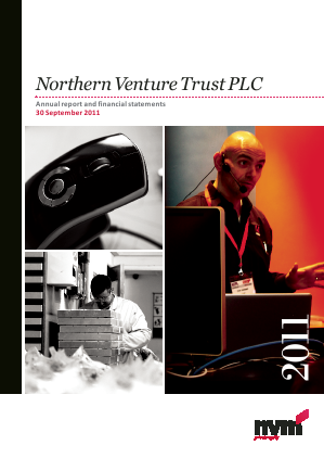 Northern Venture Trust annual report 2011