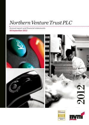 Northern Venture Trust annual report 2012