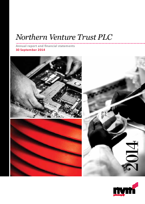 Northern Venture Trust annual report 2014