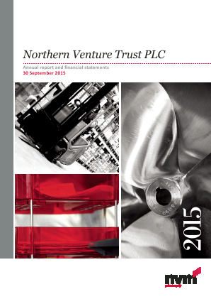 Northern Venture Trust annual report 2015