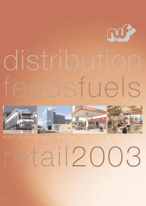 NWF Group annual report 2003