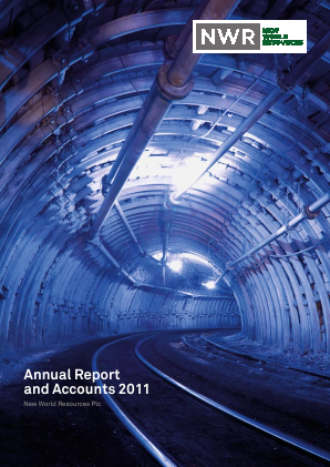 New World Resources Plc annual report 2011