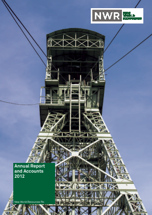 New World Resources Plc annual report 2012