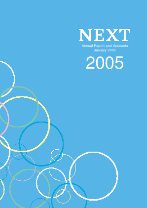 Next annual report 2005