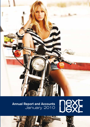 Next annual report 2010