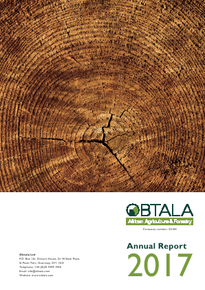Obtala (previously Obtala Resources) annual report 2017