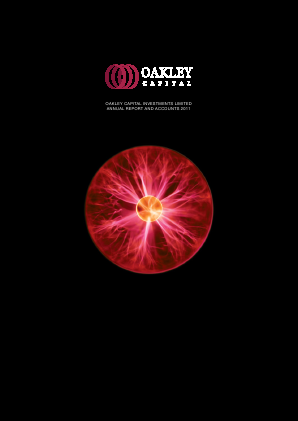 Oakley Capital Investments annual report 2011