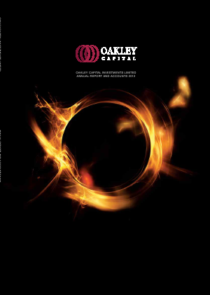 Oakley Capital Investments annual report 2012