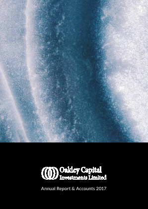Oakley Capital Investments annual report 2017