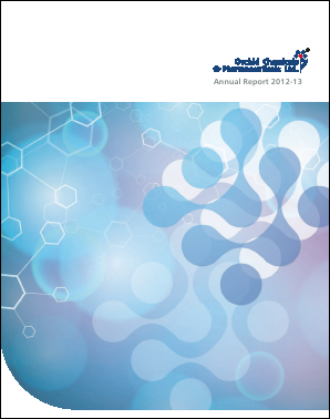 Orchid Pharma annual report 2013