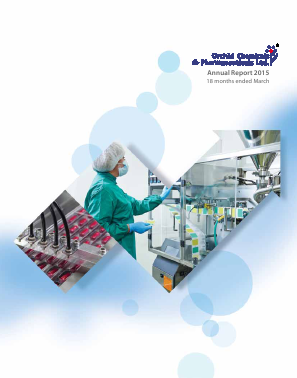 Orchid Pharma annual report 2015