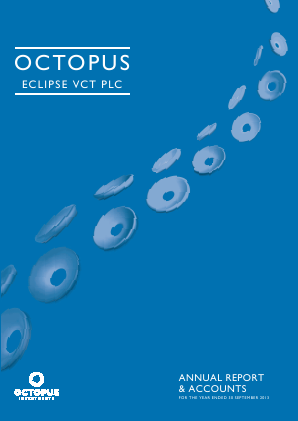 Octopus Eclipse VCT Plc annual report 2013