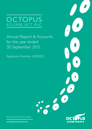 Octopus Eclipse VCT Plc annual report 2015