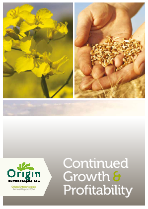 Origin Enterprises Plc annual report 2014
